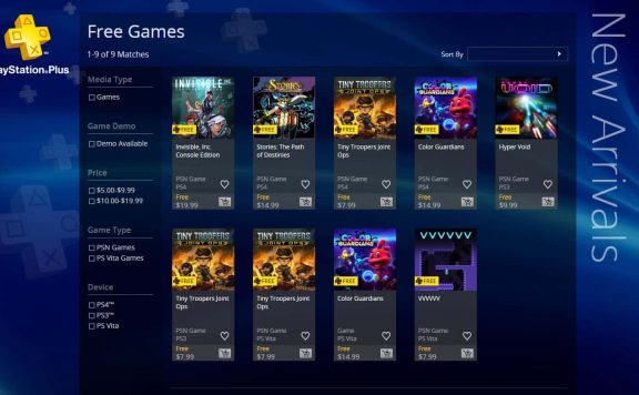 Free PlayStation Games